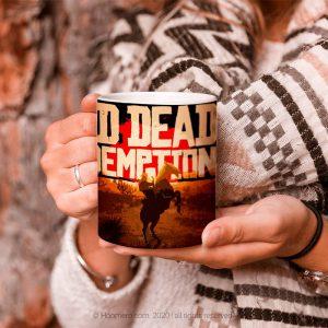ماگ طرح Red Dead Redemption - هومرو