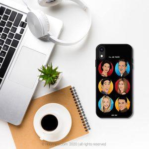قاب موبایل طرح فرندز - فروشگاه اینترنتی هومرو