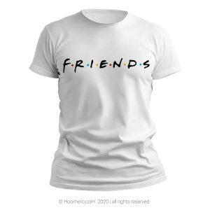 تیشرت طرح فرندز - فروشگاه اینترنتی هومرو